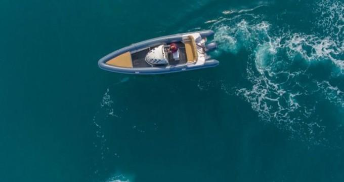 Huur Rubberboot met of zonder schipper KR in Lefkas Egremni