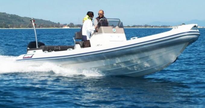 Verhuur Rubberboot Scorpion met vaarbewijs