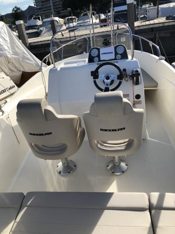 Verhuur Motorboot in Mandelieu-la-Napoule - Quicksilver 555