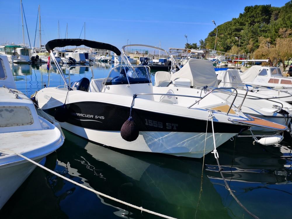 Bootverhuur Okiboats Barracuda 545 Open in Split via SamBoat