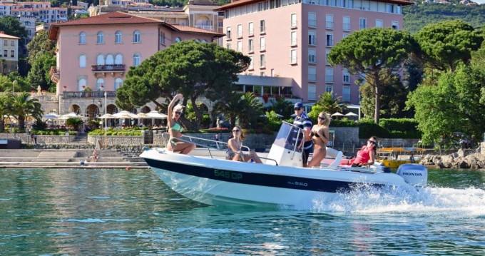 Huur Motorboot met of zonder schipper Allegra Boats in Opatija