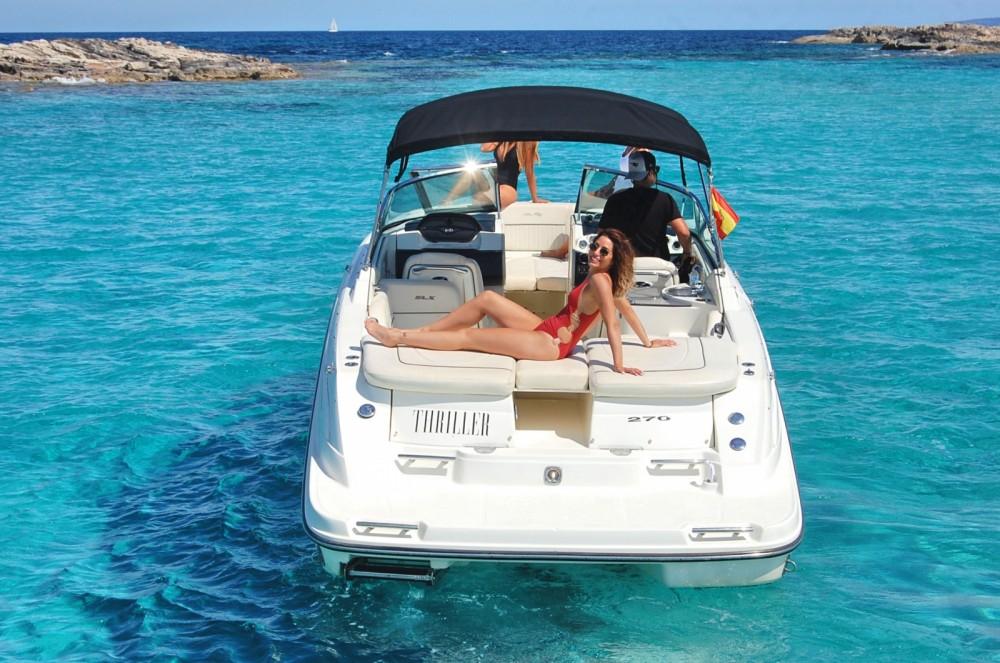 Sea Ray 270 SLX te huur van particulier of professional in Ibiza
