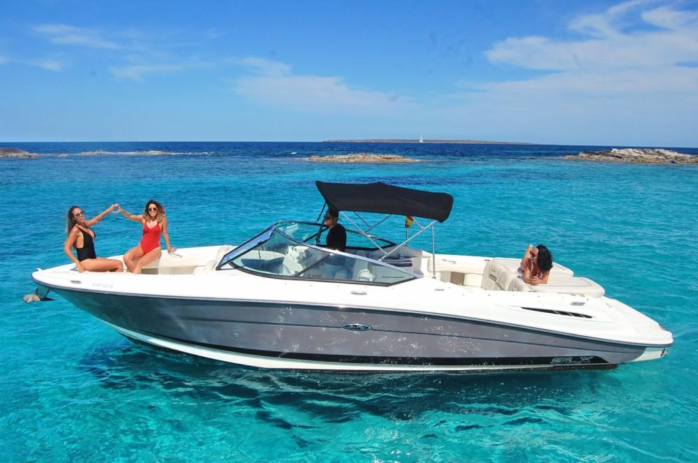 Huur Motorboot met of zonder schipper Sea Ray in Ibiza