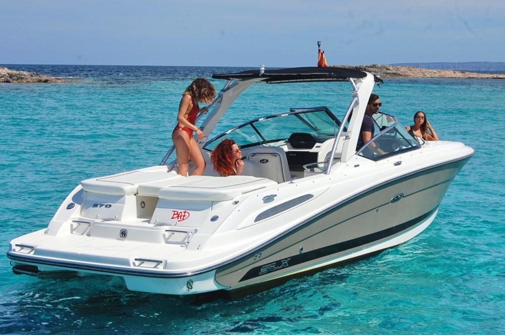 Huur een Sea Ray Sea Ray 270 SLX BAD in Ibiza