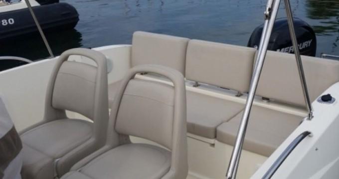Verhuur Motorboot in Mandelieu-la-Napoule - Quicksilver Activ 675 Open