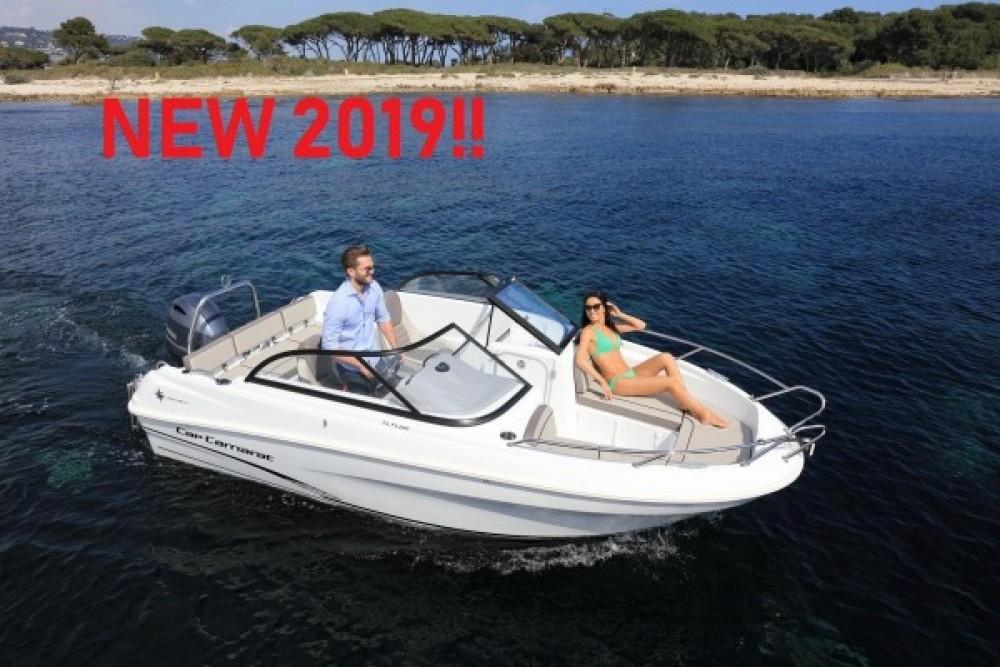Verhuur Motorboot in Betina - Jeanneau Cap Camarat 5.5 BR