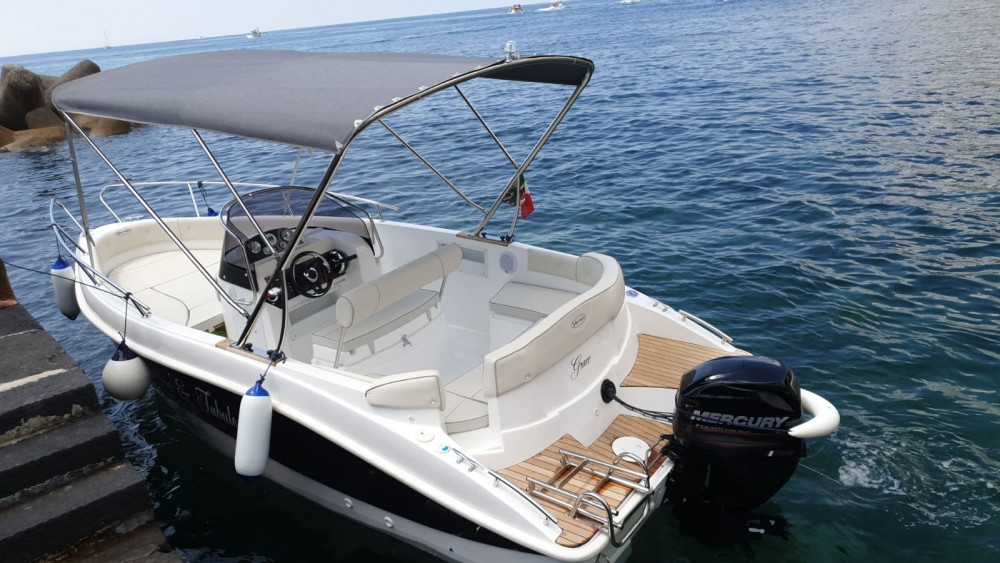Bootverhuur Marinello Elena 650 Open in Amalfi via SamBoat