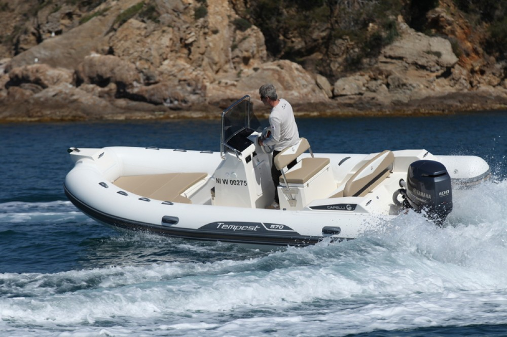 Bootverhuur Saint-Malo goedkoop Tempest 570