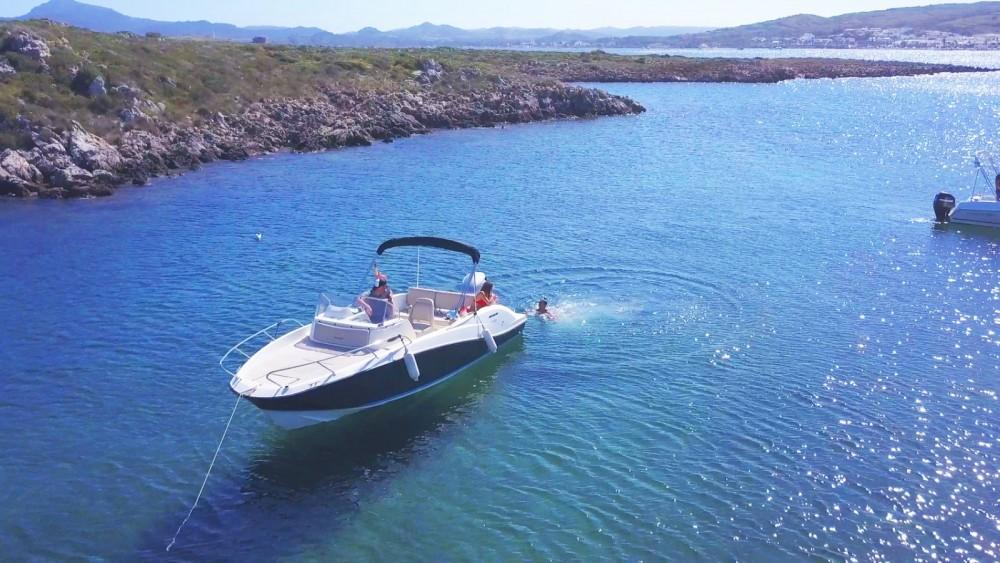 Verhuur Motorboot Quicksilver met vaarbewijs