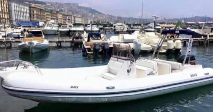 Huur Rubberboot met of zonder schipper Sacs in Napels