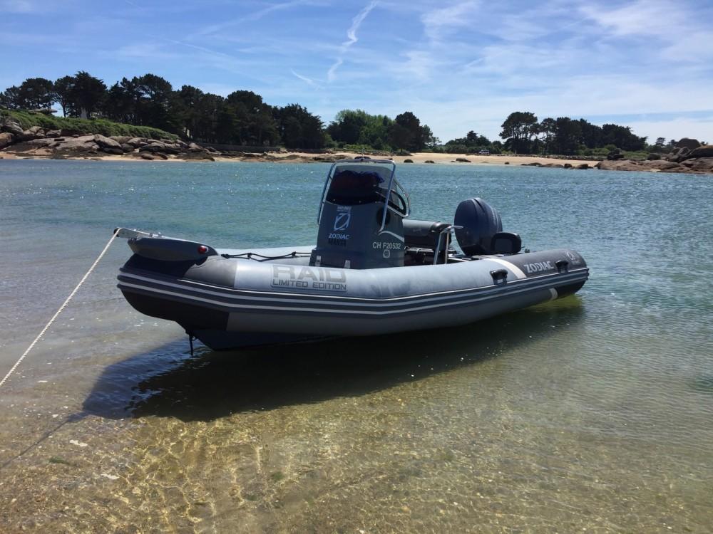 Verhuur Rubberboot in Quiberon - Zodiac Pro Open 550 Raid Edition