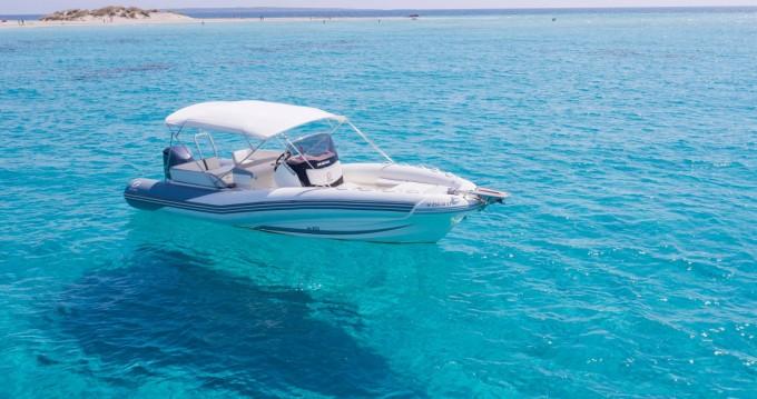 Huur Rubberboot met of zonder schipper Zodiac in Ibiza Town