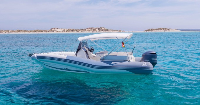 Verhuur Rubberboot in Ibiza Town - Zodiac NZ-O 760
