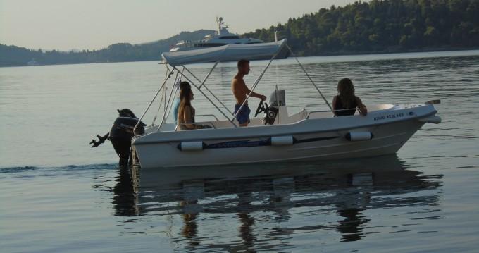 Huur Motorboot met of zonder schipper Assos Marine in Perigiálion