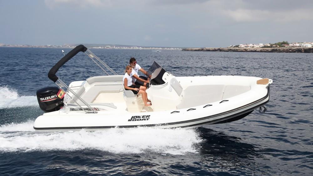 Huur Rubberboot met of zonder schipper Joker Boat in Ibiza