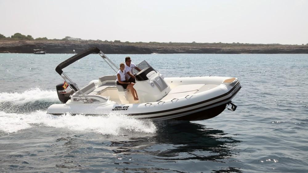 Bootverhuur Joker Boat Clubman 24 in Ibiza via SamBoat