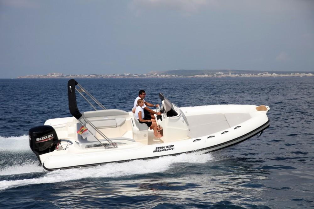 Verhuur Rubberboot in Ibiza - Joker Boat Clubman 24