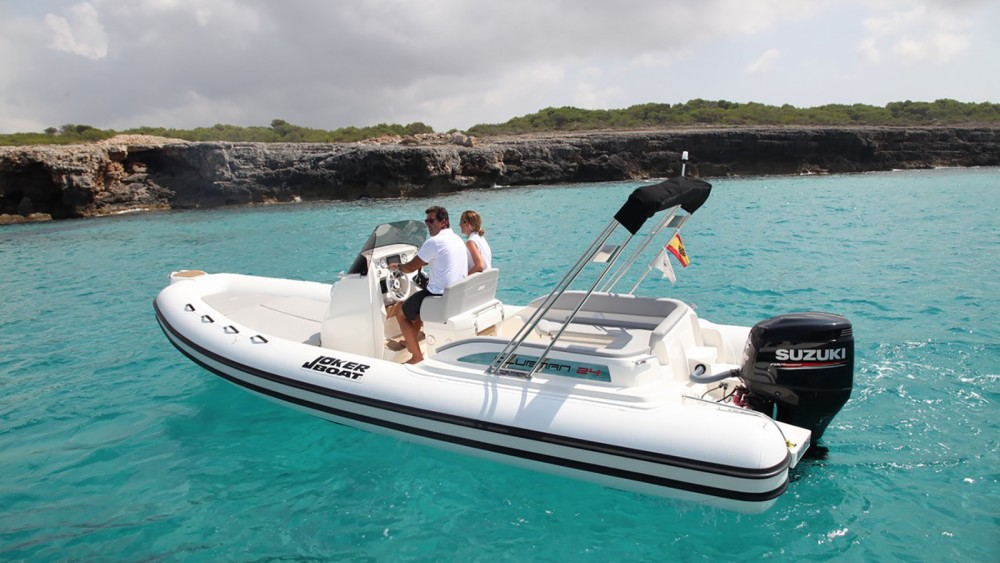 Rubberboot te huur in Ibiza voor de beste prijs