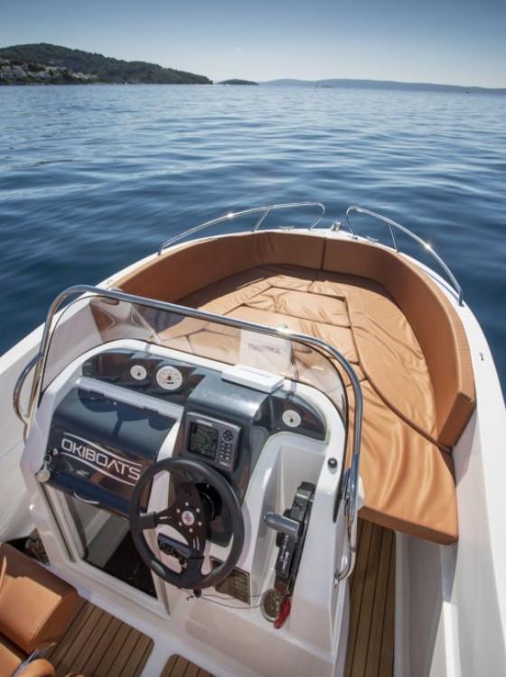 Bootverhuur Okiboats Barracuda 545 Open in Dubrovnik via SamBoat