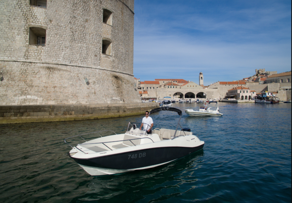 Verhuur Motorboot in Dubrovnik - Quicksilver Activ 675 Open