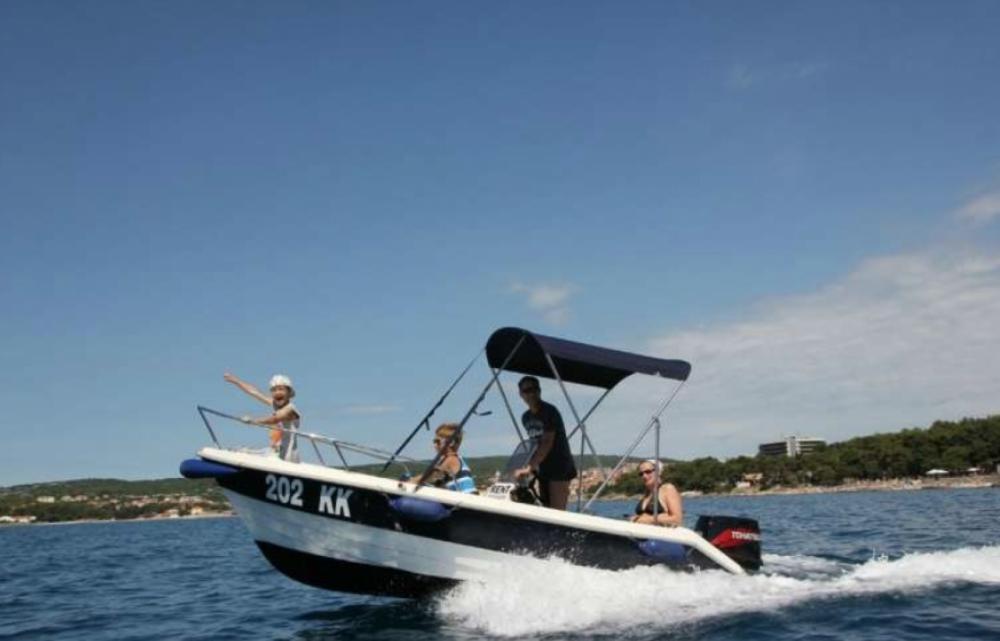 Bootverhuur fisherman Speedy 450 in Krk via SamBoat