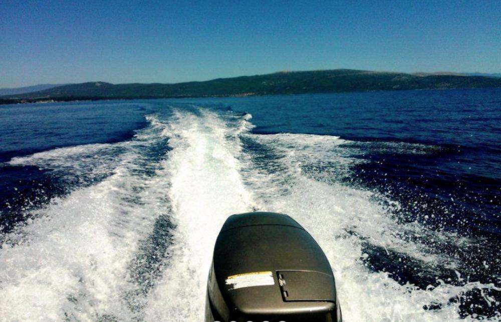 Jachthuur in Krk - fisherman Speedy 450 via SamBoat