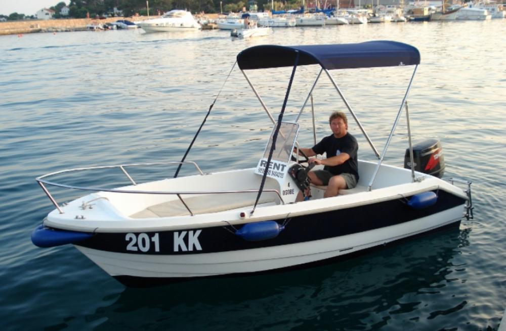 fisherman Speedy 450 te huur van particulier of professional in Krk