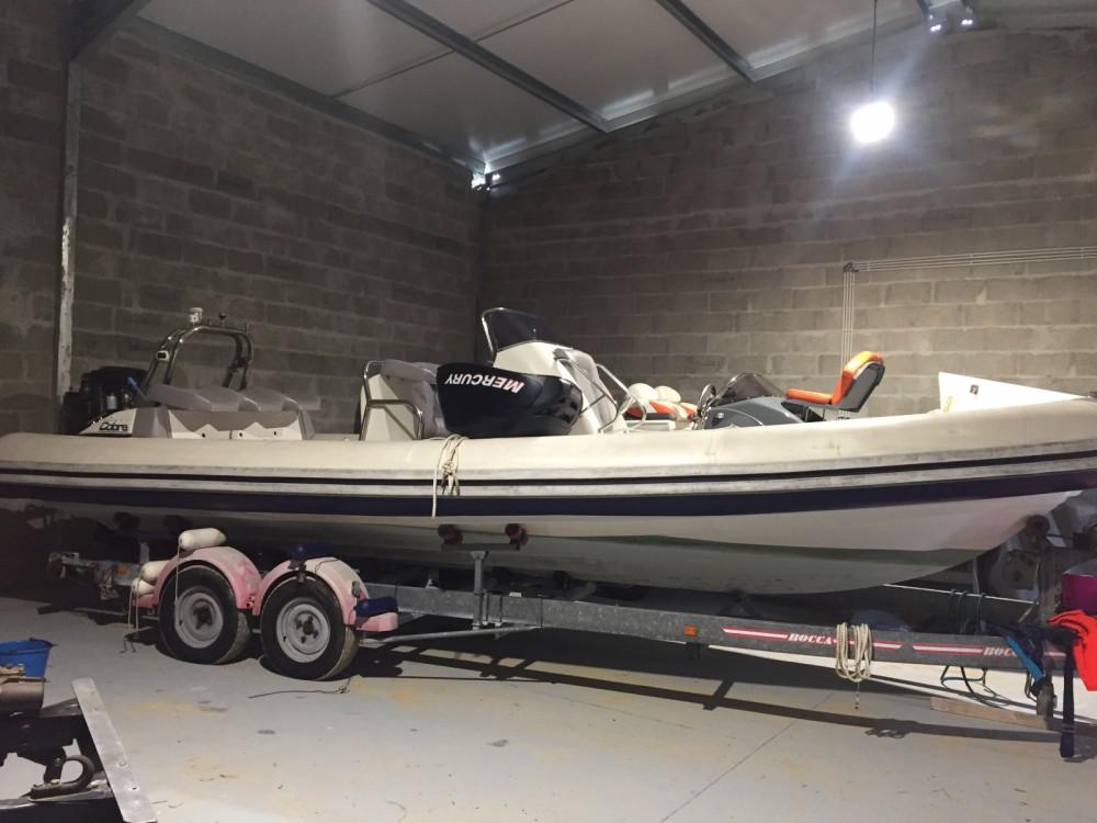 Verhuur Rubberboot in Lorient - Cobra Cobra 38