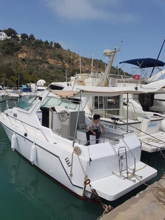 Huur Motorboot met of zonder schipper Bayliner in Sidi Bou Said
