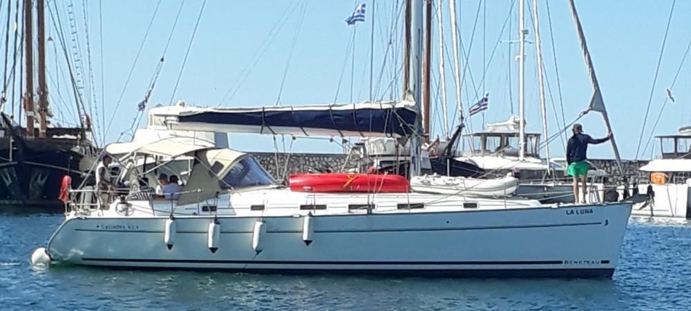 Bootverhuur Bénéteau Cyclades 434 in Athene via SamBoat