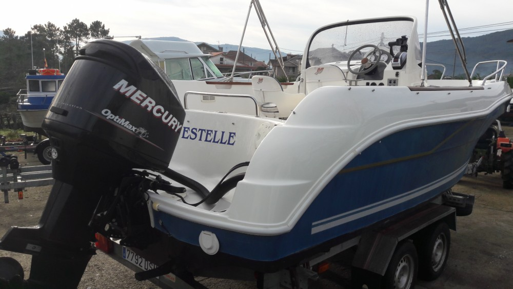 Verhuur Motorboot in Vilaboa - Quicksilver Quicksilver 630 Open