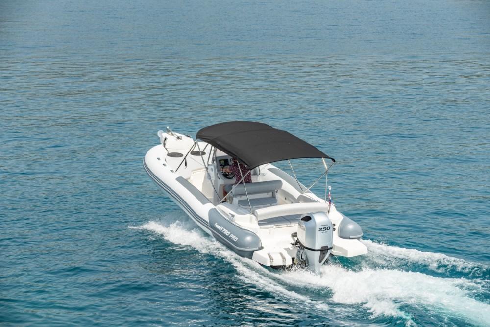 Huur Rubberboot met of zonder schipper Marlin Boat in Trogir
