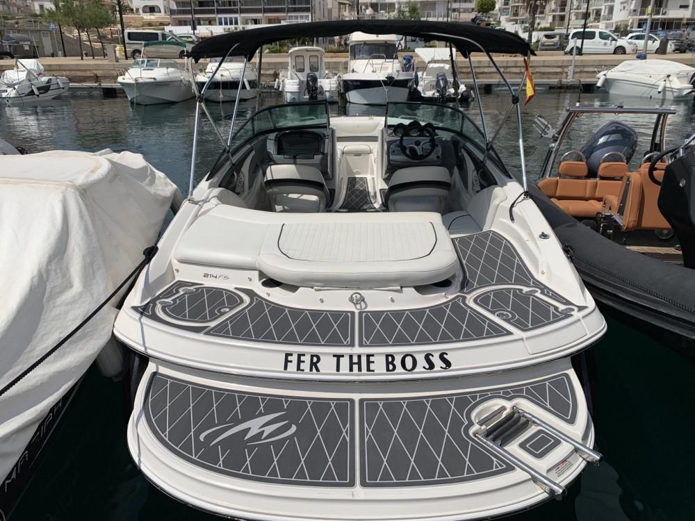 Huur Motorboot met of zonder schipper Monterey in Sant Antoni de Portmany