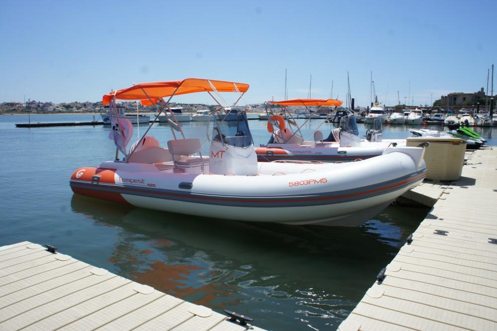 Verhuur Rubberboot in Algarve - Capelli Tempest 625