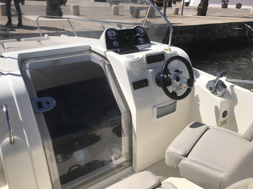 Huur Motorboot met of zonder schipper Quicksilver in es Migjorn Gran