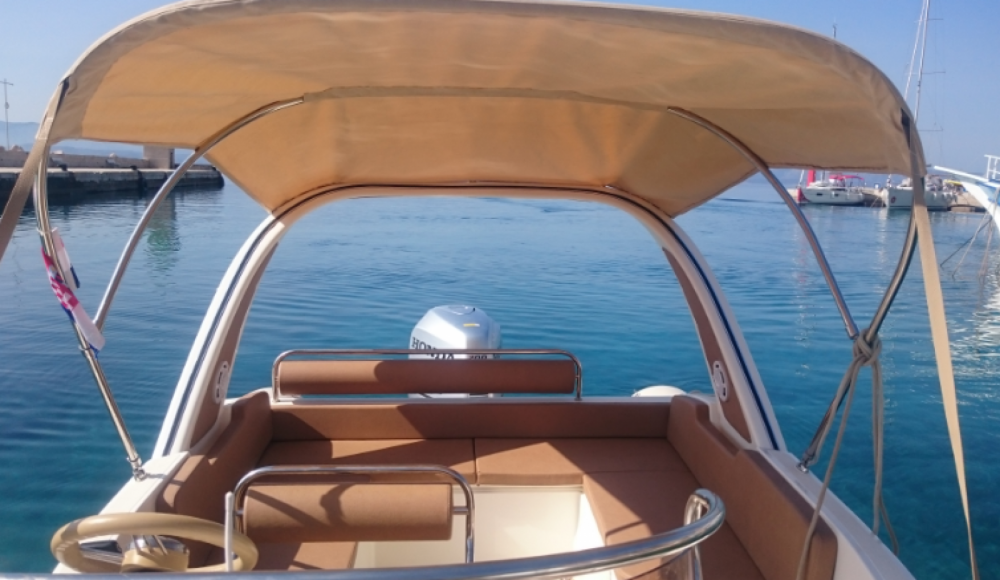 Verhuur Rubberboot in Bol - Aquamax B 23