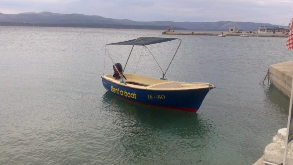 Huur Motorboot met of zonder schipper Beach boat in Bol