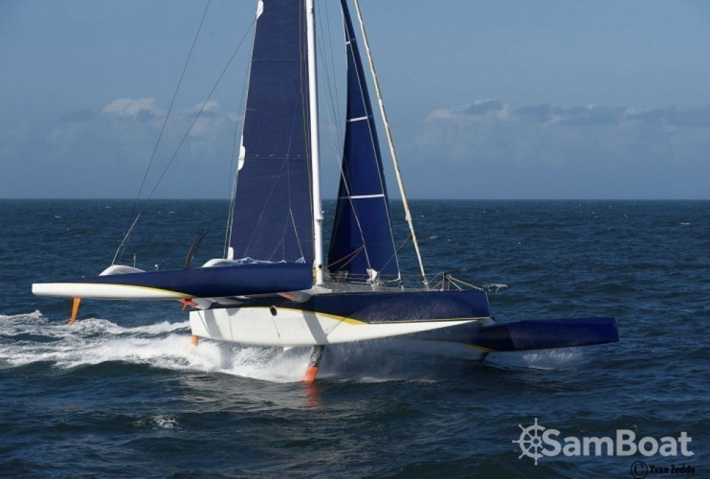 Verhuur Catamaran in La Trinité-sur-Mer - Trimaran Prototype course