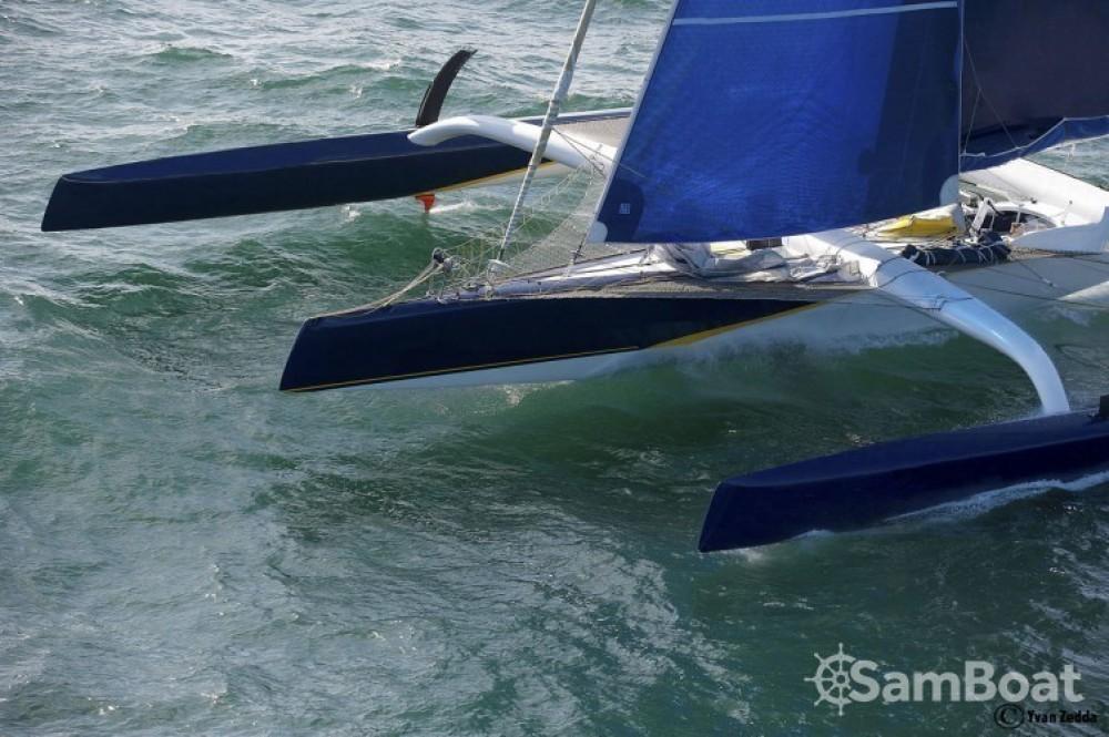Verhuur Catamaran Trimaran met vaarbewijs