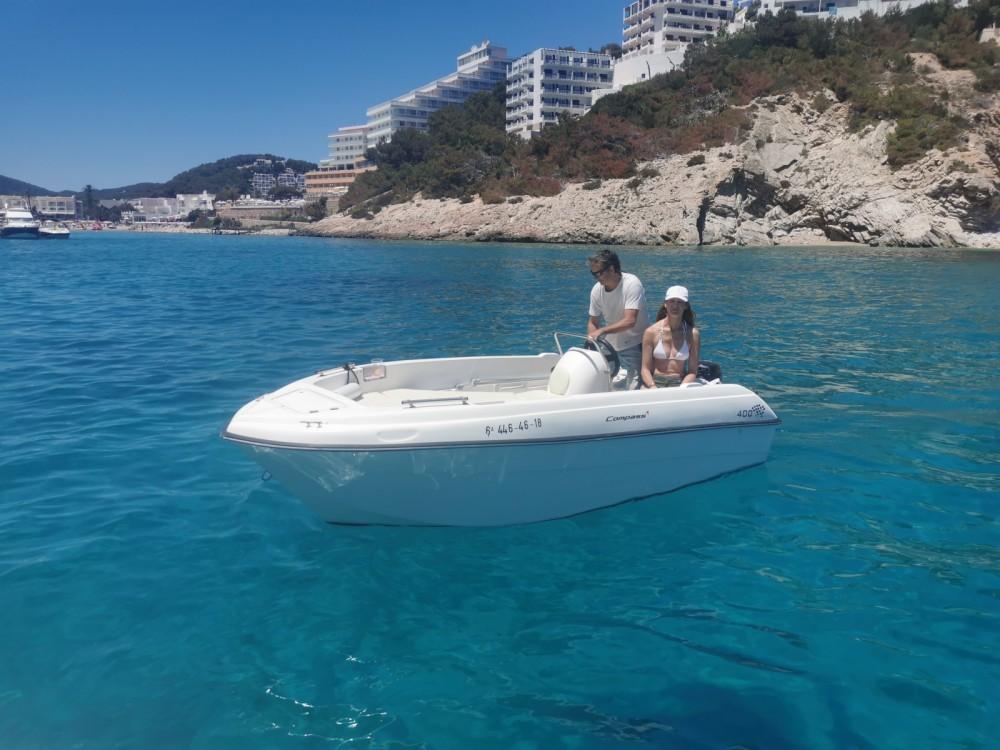 Verhuur Motorboot in Santa Eulària des Riu - compass Compass 400