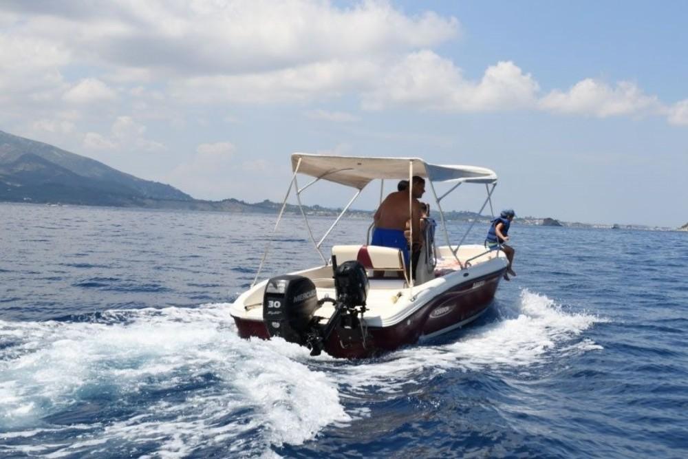 Bootverhuur Zakynthos goedkoop Poseidon 5 M