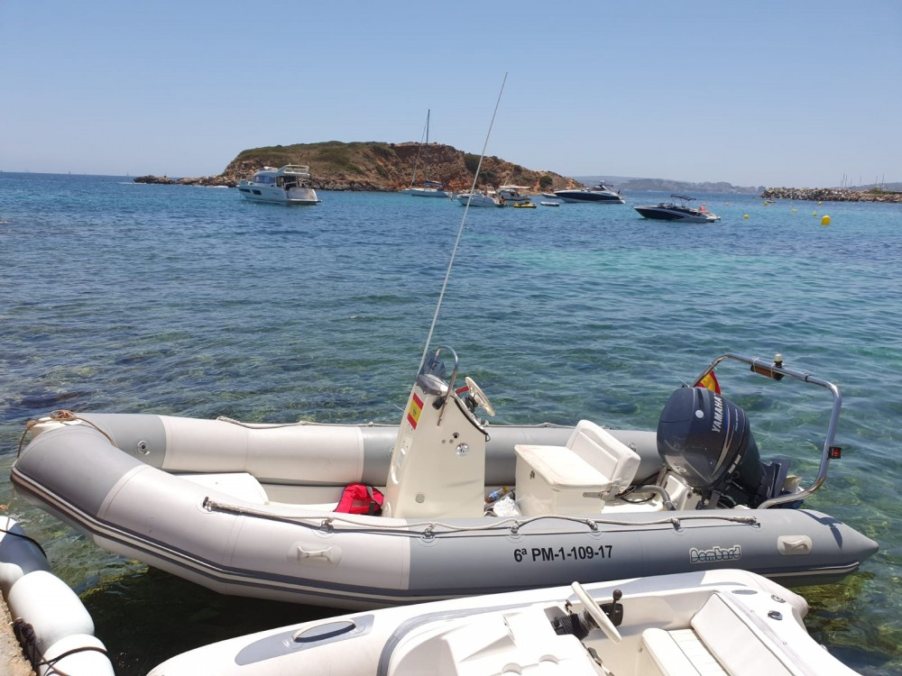 Zodiac Ribster 500 te huur van particulier of professional in Palma