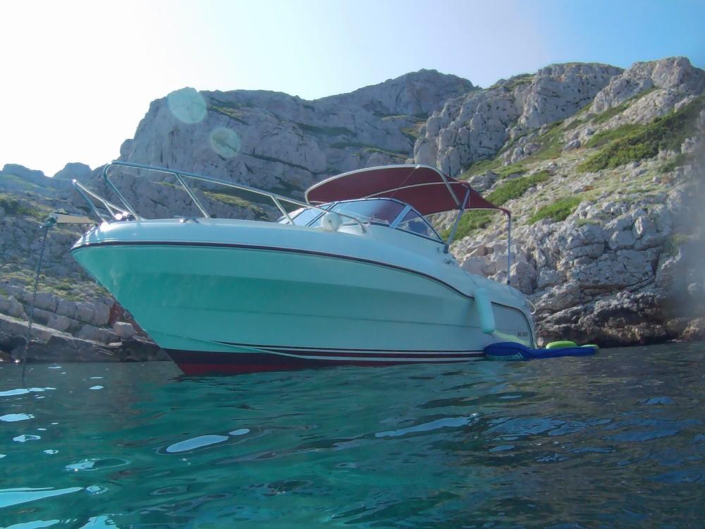Verhuur Motorboot in Marseille - Quicksilver Quicksilver 620 Flamingo