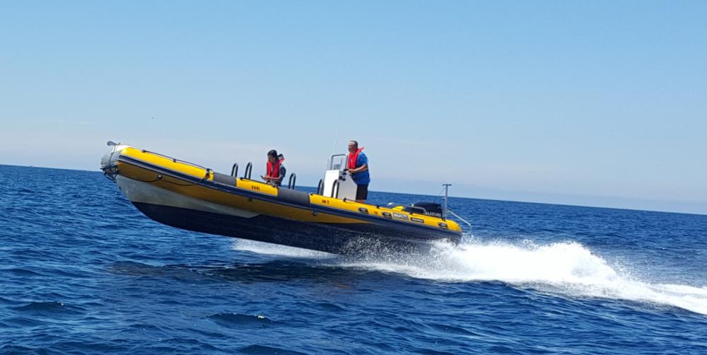 Huur Rubberboot met of zonder schipper Bwa in Centro