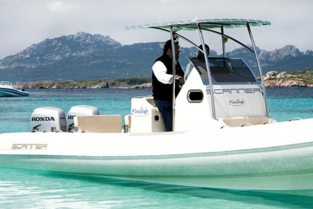 Huur Rubberboot met of zonder schipper Scanner in Salerno