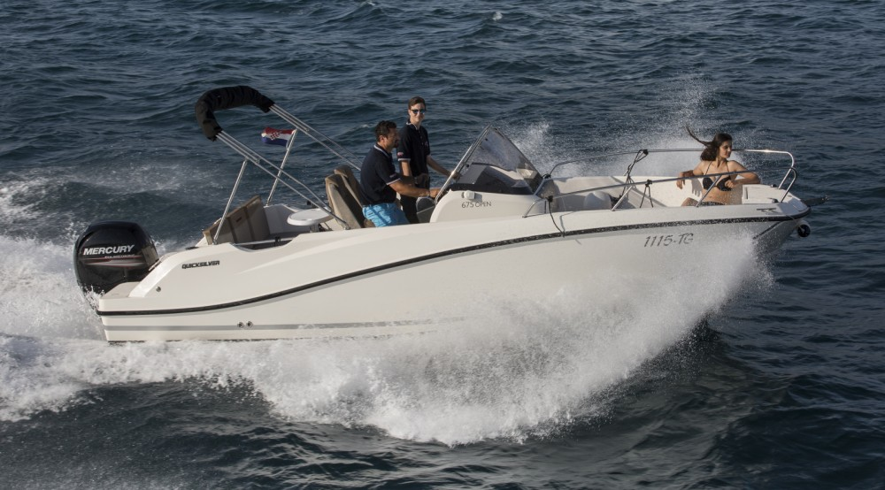 Verhuur Motorboot in Trogir - Quicksilver Quicksilver 675