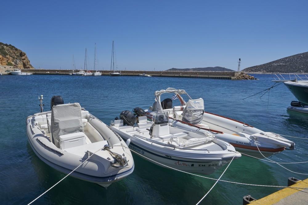 Huur Rubberboot met of zonder schipper Scorpion in Egeïsche Eilanden