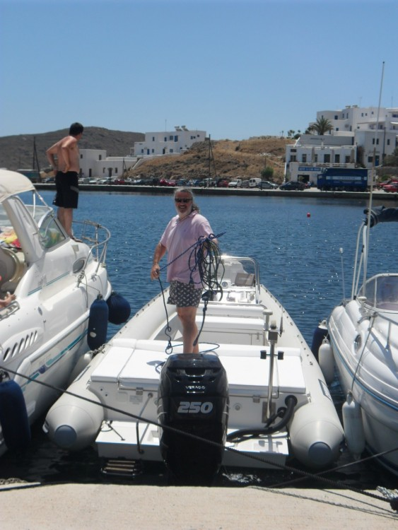 Jachthuur in Egeïsche Eilanden - Scorpion 27 via SamBoat