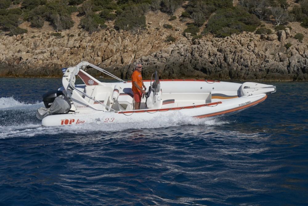 Bootverhuur TopLine Pegasus 23 in South Aegean via SamBoat