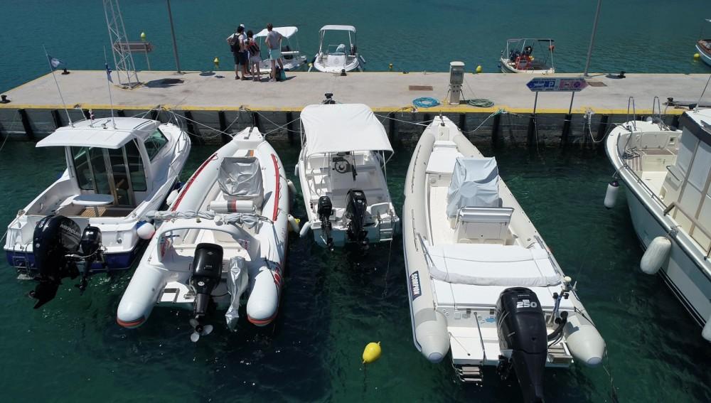 Huur Rubberboot met of zonder schipper TopLine in South Aegean
